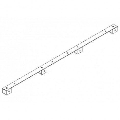 Crossarm for Pin Post Insulator - V75x8x2200 (4 core)